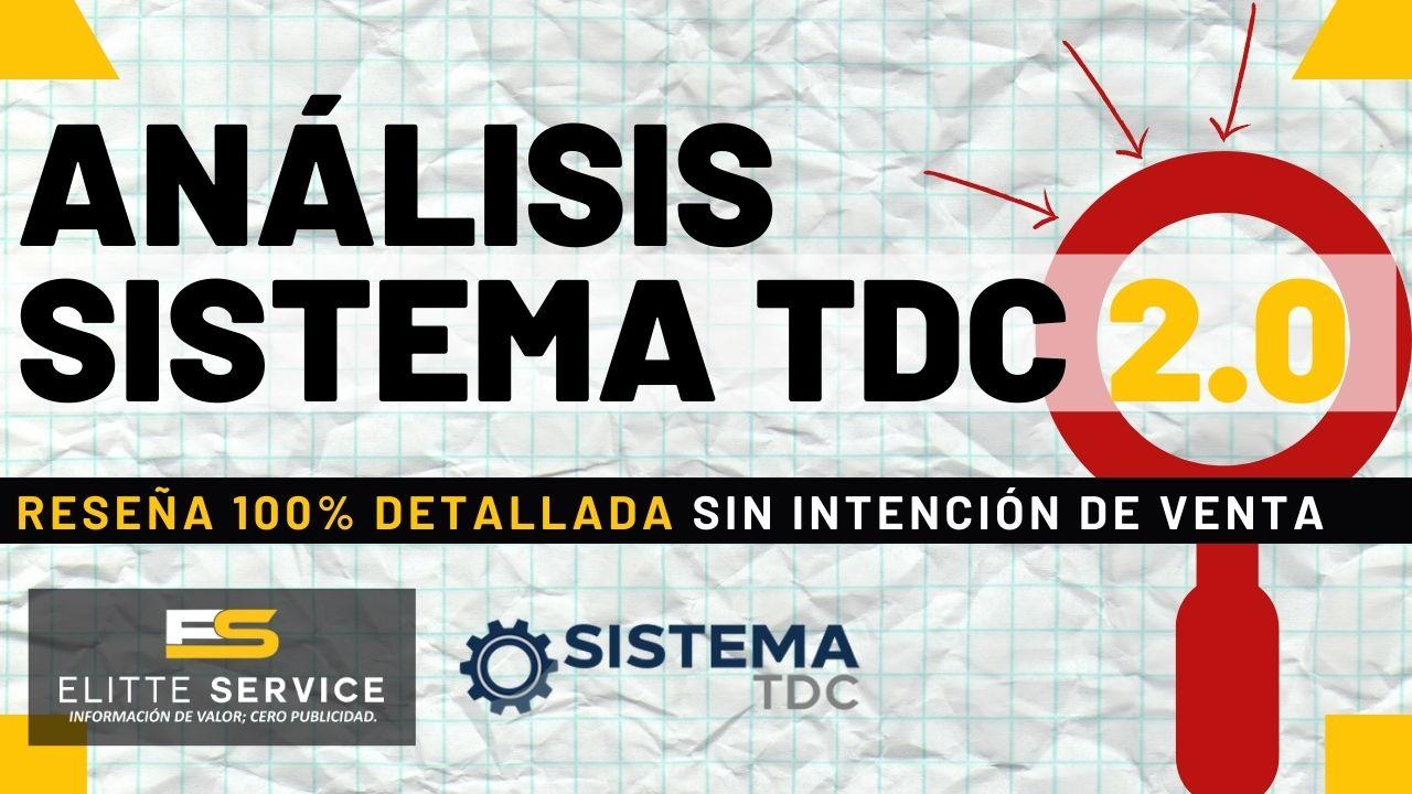 Análisis Sistema TDC 2.0