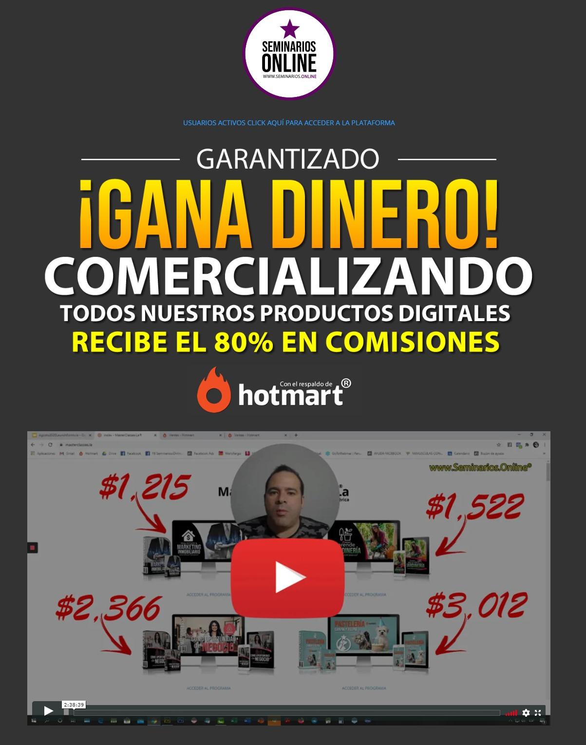 Video Seminarios Online - Mauricio Duque